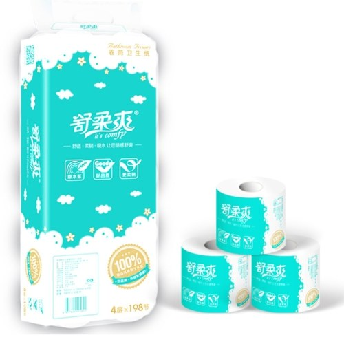 60% OFF 10rolls Soft Toilet Roll Paper T