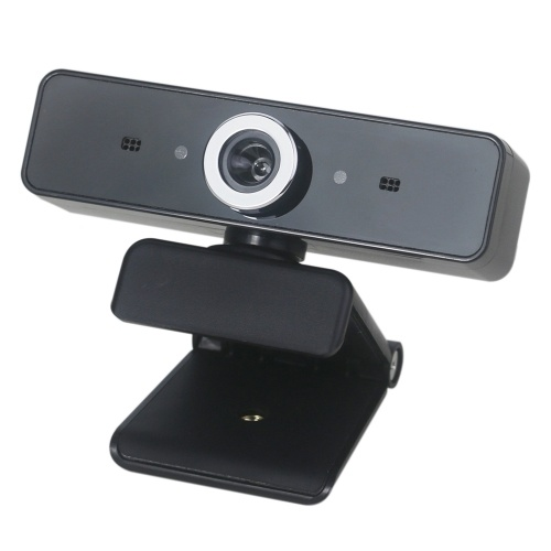 Webcam grandangolare Webcam Full HD Live Streaming con microfono incorporato fonoassorbente e antirumore