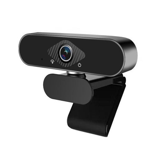 Full HD 1080P Webcam Video Conference Camera USB Webcam with Built-in Microphone Computer Camera for Laptop and Desktop