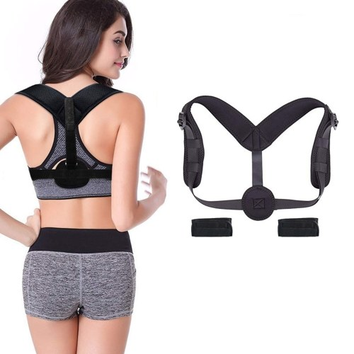 Posture Corrector for Adults and Children - Posture Brace - Adjustable Back Straightener - Discreet Back Brace for Upper Back Pain Relief - Comfortable Posture Trainer for Spinal Alignment (Universal)