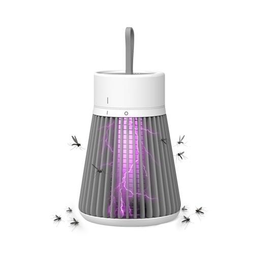 Lampada elettrica per zanzare Trappola per zanzare portatile con raggio UV
