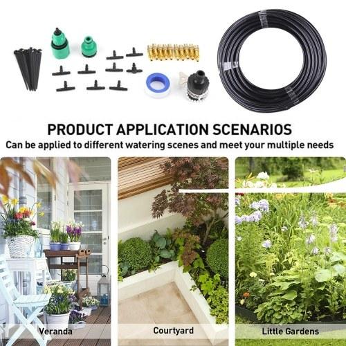 15M Drip Irrigation Kits Garden Watering System