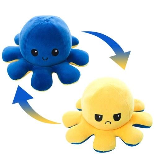 Reversible Octopus Shaped Plush Toy