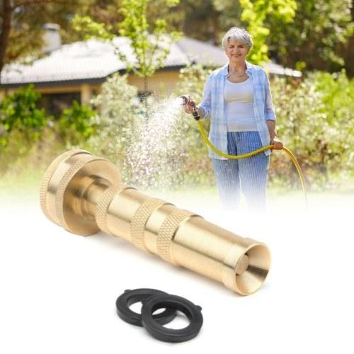 2Pcs Solid Brass Hose Nozzle