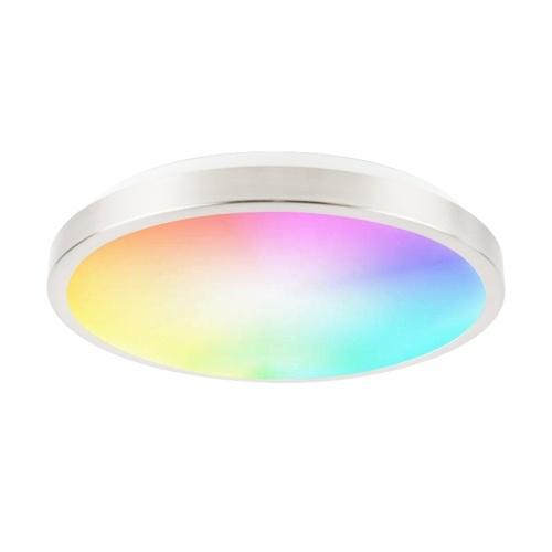 Smart Ceiling Light 13-inch 18W Flush Mount Wi-Fi Ceiling Lamp