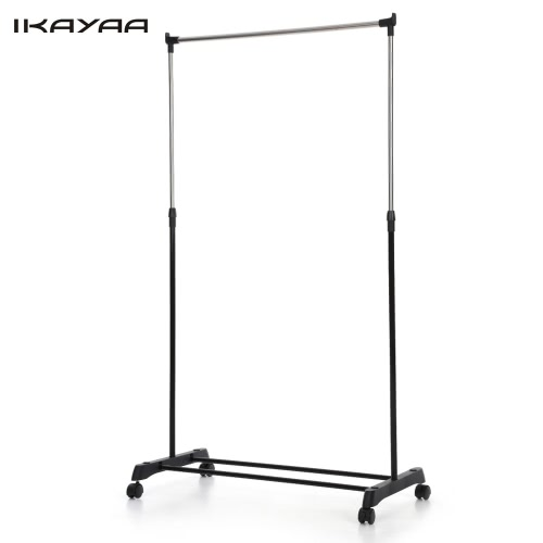 2pcs iKayaa métal manteau réglable vêtx le vêtement accrochant le support accrochant
