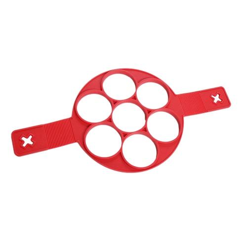 1PC Nowy silikonowy dla stick Fantastic Nonstick Pancake Maker jajkiem Pierścień przygotowywania form formy do gotowania