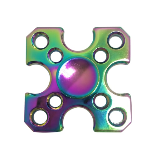 Hand Finger Labyrinth Square Spinner Fidget Bearing Focus Stress Reducer Portable Gyro Toy for Fidgeters Anxiety ADHD ADD Kids Adults