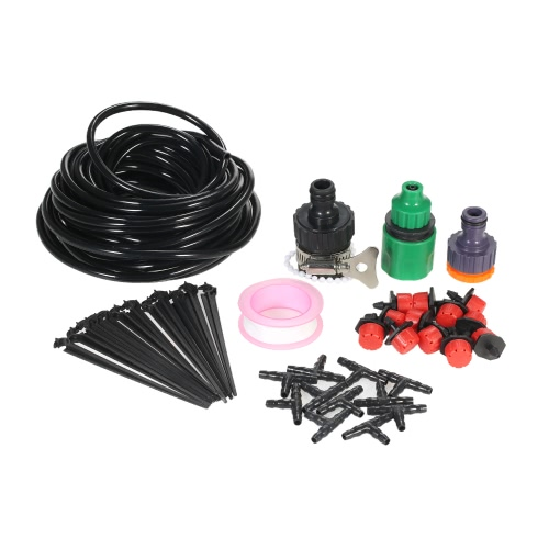 10m Micro Drip Irrigation System Dripper Sprinker Plant Watering Irrigation