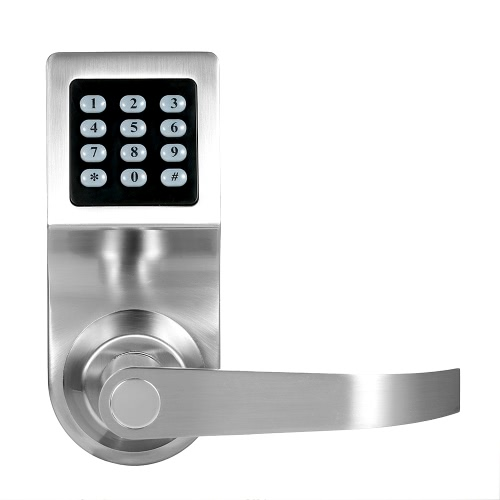 4-in-1 Electronic Keypad Door Coded Lock