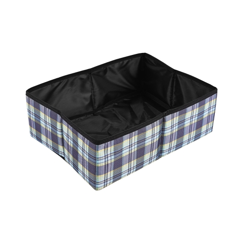 Foldable Portable Collapsible Cat Litter Box Pan Litterbox Easy Cleaning Water-resistant Adopt for Oxford Fabric