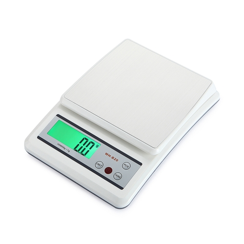 WeiHeng Mini Electronic Platform Scale Digital Kitchen Scale with Stainless Steel Platform Food Scale with Count Function and Tare Function