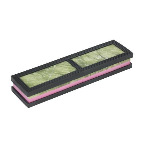 """Decdeal 8 """"* 2"""" * 1 """"Двухсторонний нож для резки камня 3000/10000 Грит Двухсторонний точильный камень из тонколистовой стали 200 * 50 * 25 мм"""