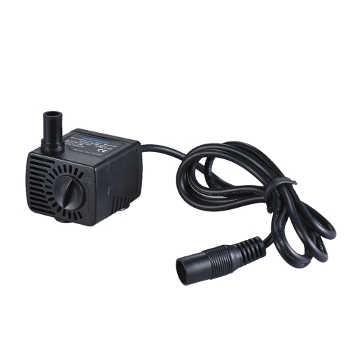 Mini Submersible Brushless Water Pump Ultra-quiet Max. Lift 1.5M 200L/H DC 12V for Fish Tank Aquarium Fountain Circulating