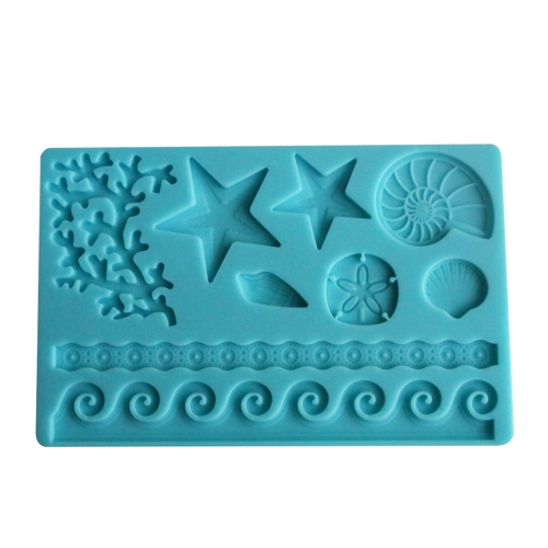 Diy de silicona fondant molde decoración de la torta herramientas azúcar para hornear moldes de hielo tortas decoración de la frontera