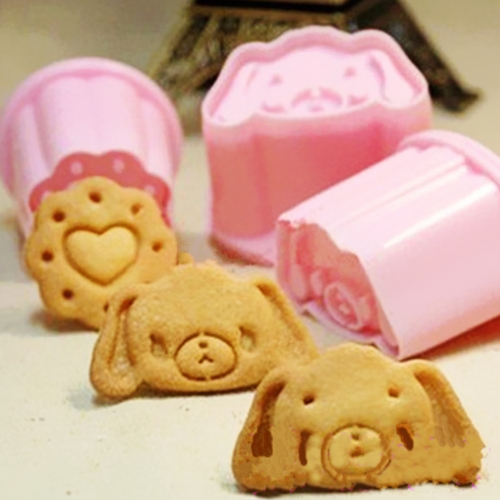 Garfield Dog Cookie Biscuit Cutter Stencil Sello Prensa Fondant Cake Craft Chocolate Moldes Herramienta