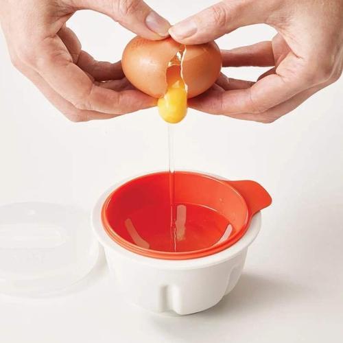 Bol à oeufs cuit à la vapeur Pocher à oeufs Pocher Cuire Poches Pods Outils Tasse à four à micro-ondes