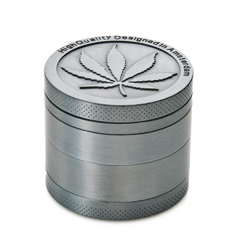 4 Unidades Herb Spice Weed Tobacco Grinder Moneda Shape Free Scraper Herbal Leaf Crusher Mano Muller Seasoning Mills Herramientas