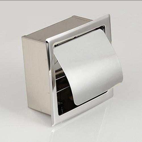 Нержавеющая сталь Скрытая рулонная бумага Держатель для ванной