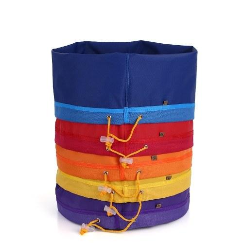 5pcs / set 5 галлонов фильтра сумка Bubble Bag Herbal Ice Essence Extractor Kit Набор из 5шт мешков для мешков с вырезом для мешков с мешком для прессовки и сумкой для переноски фото