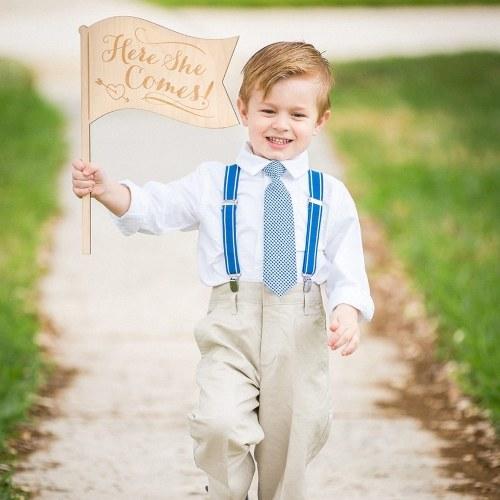 Деревенский деревянный свадебный путеводитель для мальчика Деревянный путеводитель для невесты и жениха фото