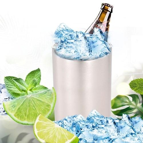 Ice Bucket Cocktail Shaker Stainless Steel Wine Bucket