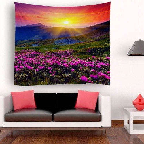 Tapestry Wall Hanging Scenery Tapestries Sunset Landscape Tapestry