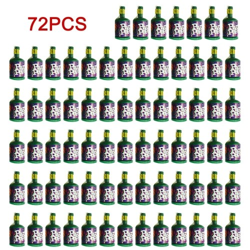 Party Poppers Confetti Cannons 72 Pack