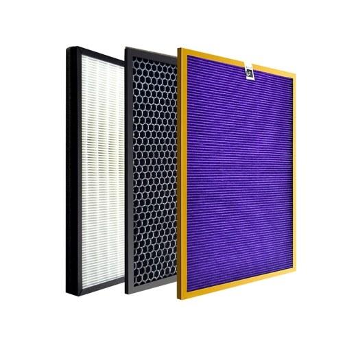 3 piezas 4141 + 4143 + 4144 filtros compatibles con purificador de aire Philips AC4072 4074 4083 4084 4085 4086 4014