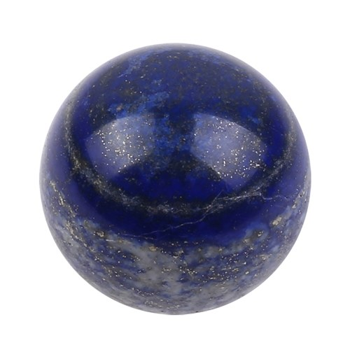 40mm Natural Lapis Lazuli Crystal Ball Hand Massage Ball Healing Stone Home Office Ornament