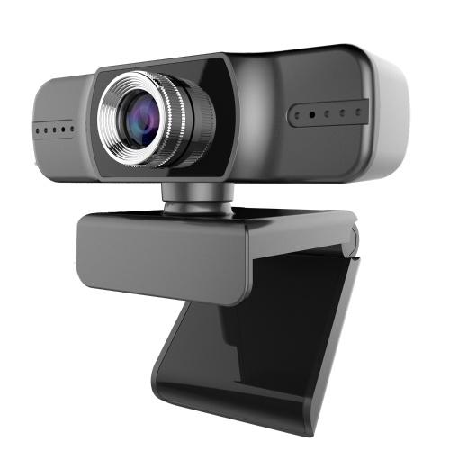 1080P Webcam Live Streaming Webcam USB Cámara web