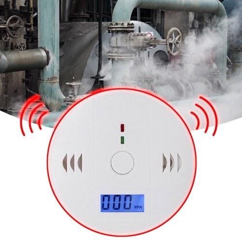 Capteur de sécurité d'alarme vocale de détecteur d'alarme de monoxyde de carbone sans cellule
