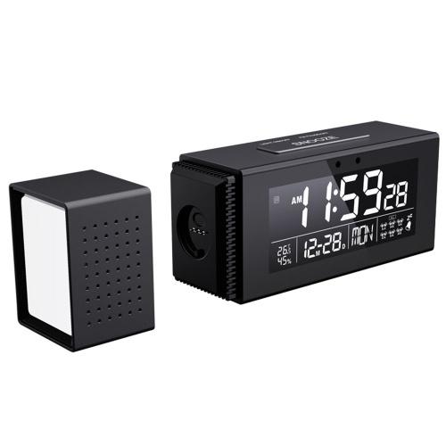 Despertador digital com luz noturna de 7 cores