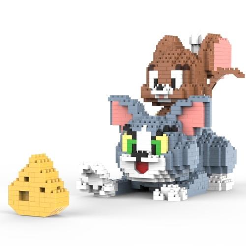 Quebra-cabeça 3D MINI Castle Building Blocks Modelo de construção