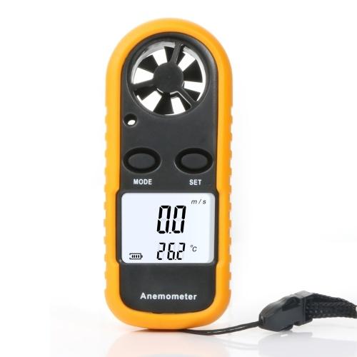 Misuratore di velocità del vento portatile