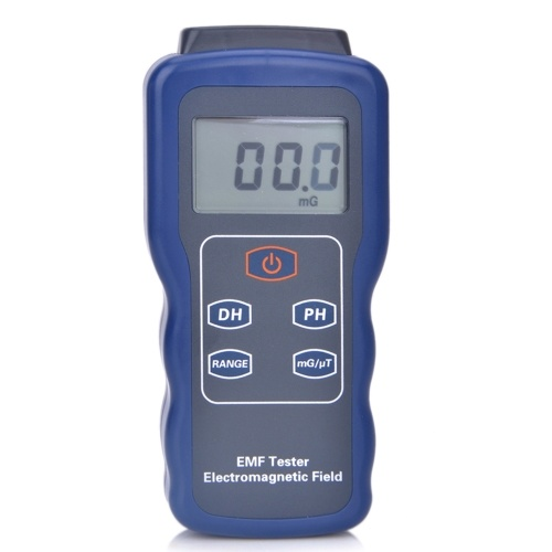 Detector de radiação de campo eletromagnético do medidor