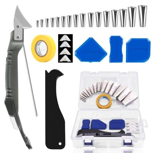 26 Pcs Caulking Tool Kit