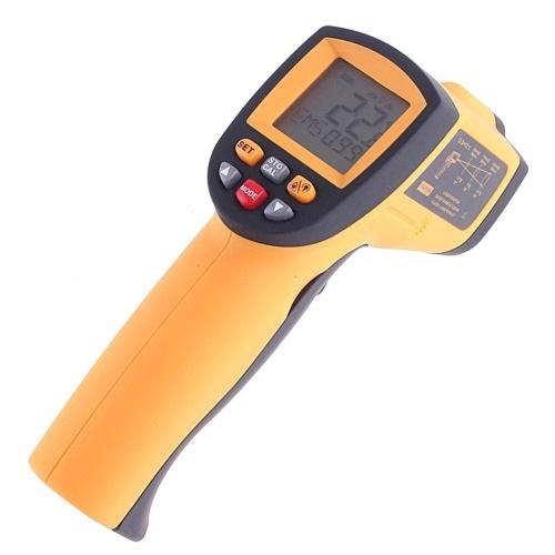 KKmoon Thermomètre sans contact de -50 à 900 ℃ de laser IR w / alarme MAX / MIN / AVG / DIF