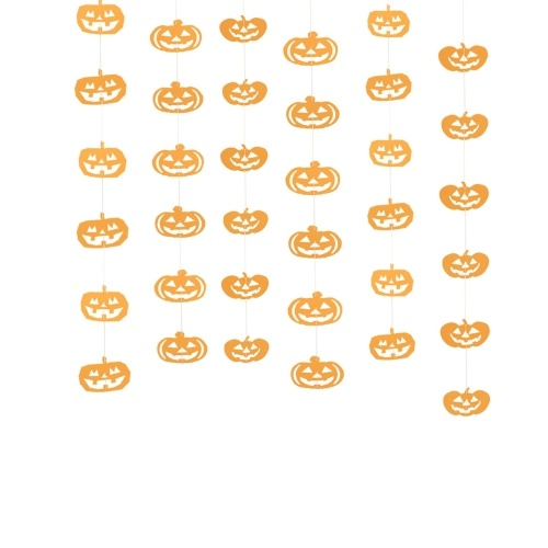 Halloween-hängende Papierfahnen-Girlande