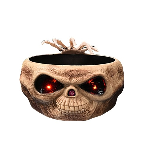Halloween Electric Compote Skull Claws Candy Container