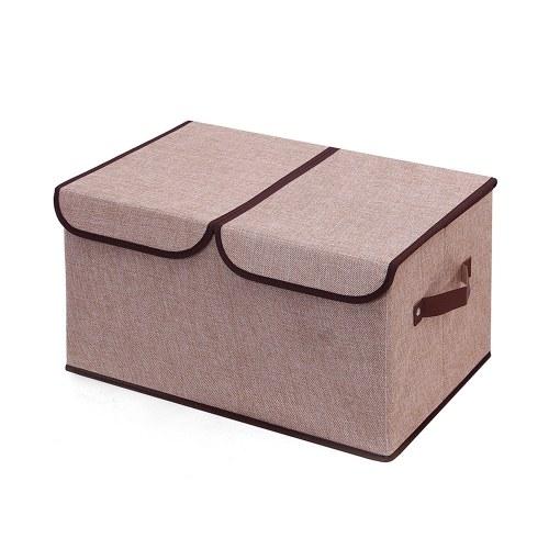Коробка для хранения с двойной крышкой
