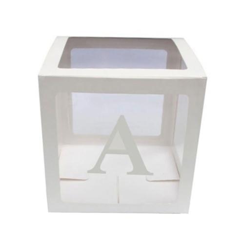 Transparent Storage Box Party Surprise Wedding Decoration Gift Box Children Supplies