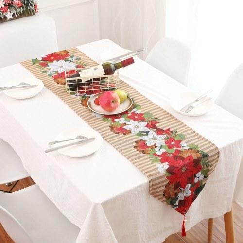 クリスマステーブルランナーXams椅子カバー