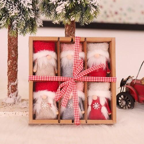 Caja de decoración navideña