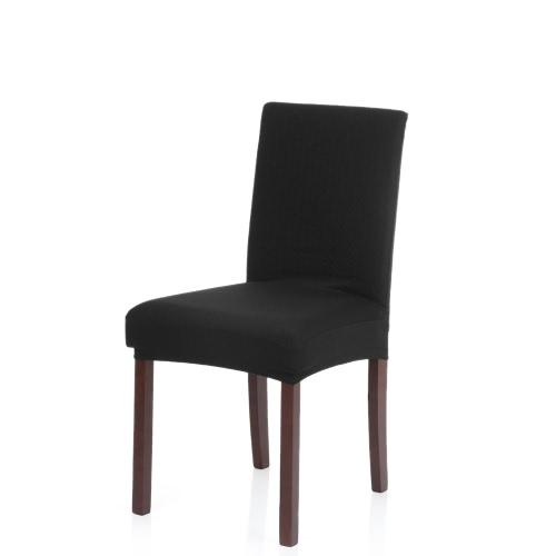 Gruba dzianina Stretch Removable zmywalny Jadalnia Krzesło Cover poliester elastan siedzące Slipcover na wesele hotelowej jadalni Ceremonii