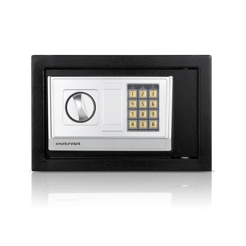IKayaa Stahl Digital Elektronische Safe Box