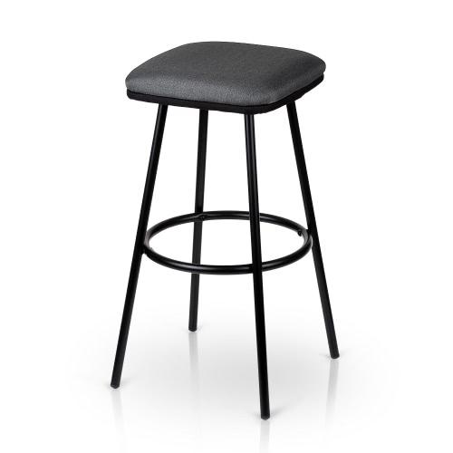 iKayaa 2PCS / Набор из 2 современных металлических барных стульев