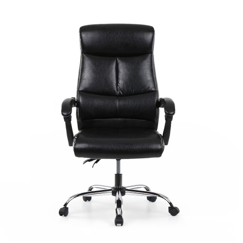 Sedia ufficio direzionale in pelle PU ergonomica iKayaa