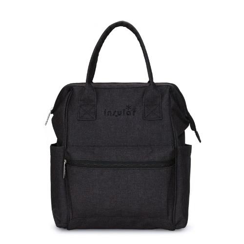 Insular Multifunktionale Mommy Bag ausgezeichnete Wasserbeständigkeit Windel-Beutel-Rucksack-Durable-Schulter-Beutel-Baby-Windel-Tasche für Mamma-Babyparty-Geschenk