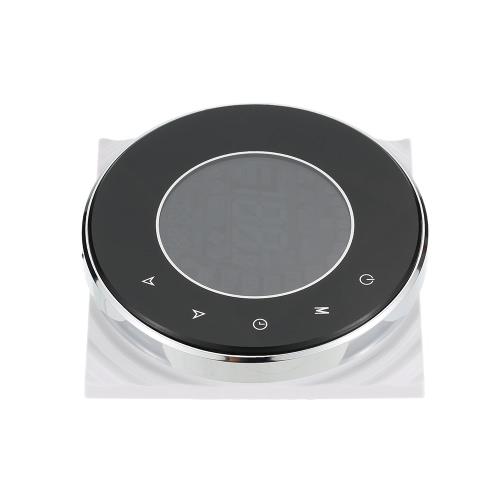 3A 95 ~ 240V Chauffage de l'eau Thermostat intelligent à économie d'énergie avec écran tactile Affichage LCD Contrôleur de température ambiante programmable hebdomadaire Produit d'amélioration de la maison